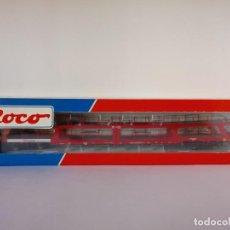 Trenes Escala: ROCO H0 1:87 VAGON PORTACOCHES DE DOS PISOS DB REF. 46468 (USADO). Lote 147671390
