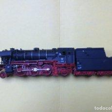 Trenes Escala: LOCOMOTORA DE VAPOR BR 23-105 DB ROCO REF. 43248 DIGITALIZADA Y FUMIGENO. Lote 148019422
