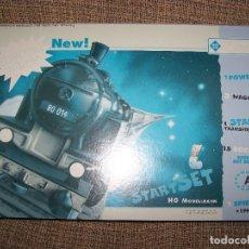 Trenes Escala: CAJA INCOMPLETA ROCO STARTSET H0 41140. Lote 149848946
