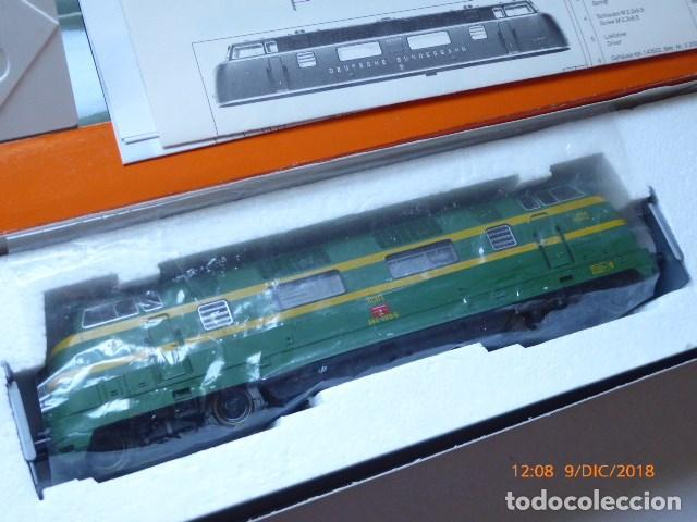 LOCOMOTORA ROCO DIESEL , HO, RENFE 4025, REF, 43583, SIN USAR, (Juguetes - Trenes a Escala H0 - Roco H0)