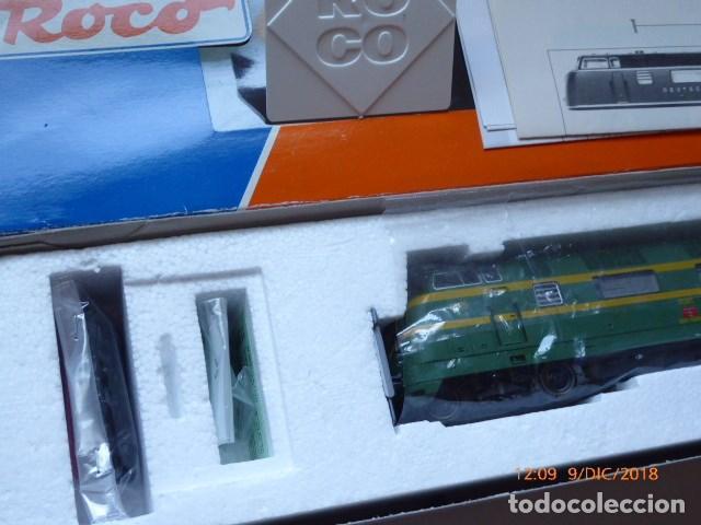 Trenes Escala: locomotora roco diesel , ho, renfe 4025, ref, 43583, sin usar, - Foto 2 - 153371042