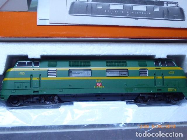 Trenes Escala: locomotora roco diesel , ho, renfe 4025, ref, 43583, sin usar, - Foto 3 - 153371042