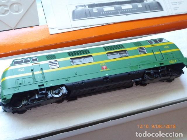 Trenes Escala: locomotora roco diesel , ho, renfe 4025, ref, 43583, sin usar, - Foto 4 - 153371042