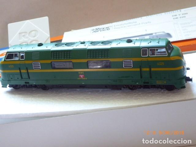 Trenes Escala: locomotora roco diesel , ho, renfe 4025, ref, 43583, sin usar, - Foto 7 - 153371042