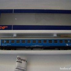 Trenes Escala: ROCO. VAGÓN COCHE LABORATORIO TREN-TIERRA. ESCALA H0. Lote 153521642