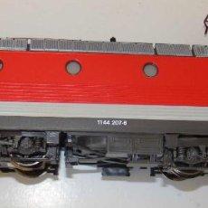Trenes Escala: LOCOMOTORA ELECTRICA RH 1144 VALOUSEK DE ROCO REF.63578 DIGITAL DCC. Lote 156203722