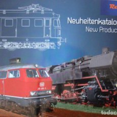 Trenes Escala: CATALOGO DE NOVEDADES ROCO 2016. Lote 156523186