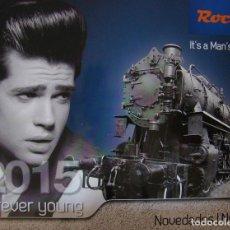 Trenes Escala: CATALOGO DE NOVEDADES ROCO 2015. Lote 156523358