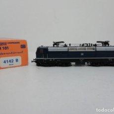 Trenes Escala: ROCO H0 4142B LOCOMOTORA ELÉCTRICA BR 181 RARA NUEVO A ESTRENAR NEW OVP. Lote 157933206