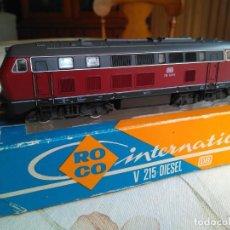 Trenes Escala: LOCOMOTORA ROCO HO V 215 DIESEL DE LA DB.REF.4151. Lote 158695606