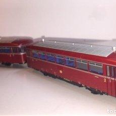 Trenes Escala: LOCOMOTORA ROCO H0 63020 AUTOMOTOR RAILBUS (48). Lote 158777398
