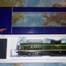 Trenes Escala: LOCOMOTORA 307 VERDE VALENCIANA ROCO REF. 63924 DIGITAL. Lote 160017930