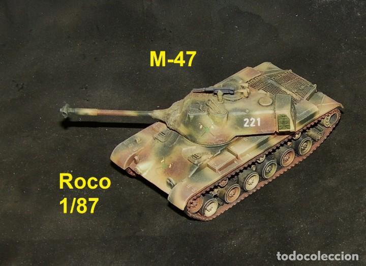 M-47 ESPAÑOL, MIMETIZADO PENTÓMICO (Juguetes - Trenes a Escala H0 - Roco H0)