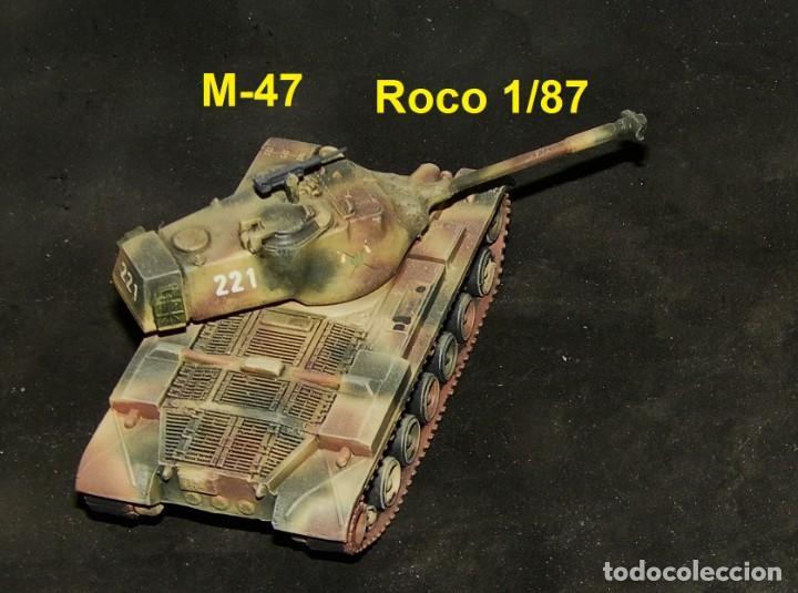 Trenes Escala: M-47 español, mimetizado pentómico - Foto 3 - 164627266