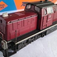 Trenes Escala: ROCO H0 LOCOMOTORA TRACTOR DE MANIOBRAS DIESEL DE LA DB BR 290, ALTERNA,VÁLIDA MARKLIN. Lote 169092176