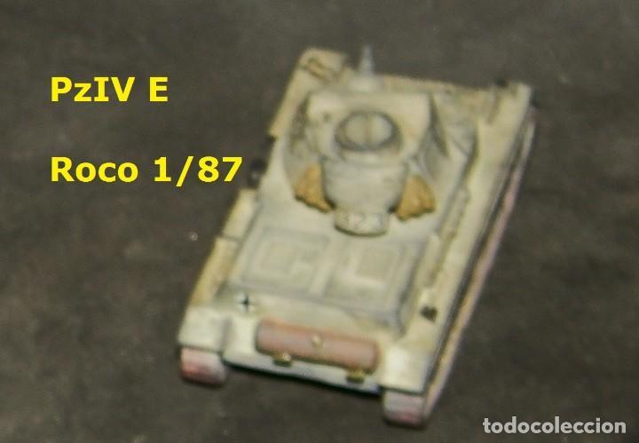 Trenes Escala: Pz-IV E __ del __DAK , Roco 1/87 - Foto 3 - 171489648