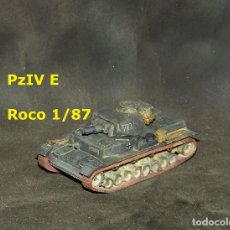 Trenes Escala: PZ-IV E , ROCO 1/87. Lote 171489853