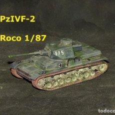 Trenes Escala: PZ-IV F-2, ROCO 1/87. Lote 171490147