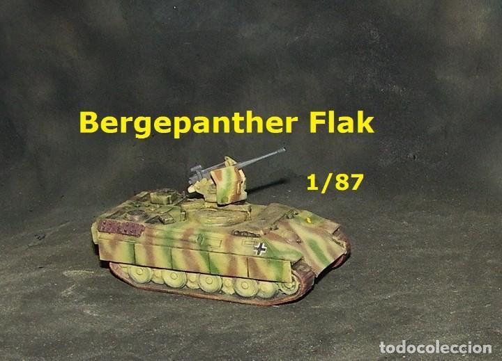 BERGEPANTHER FLAK, 1/87 (Juguetes - Trenes a Escala H0 - Roco H0)