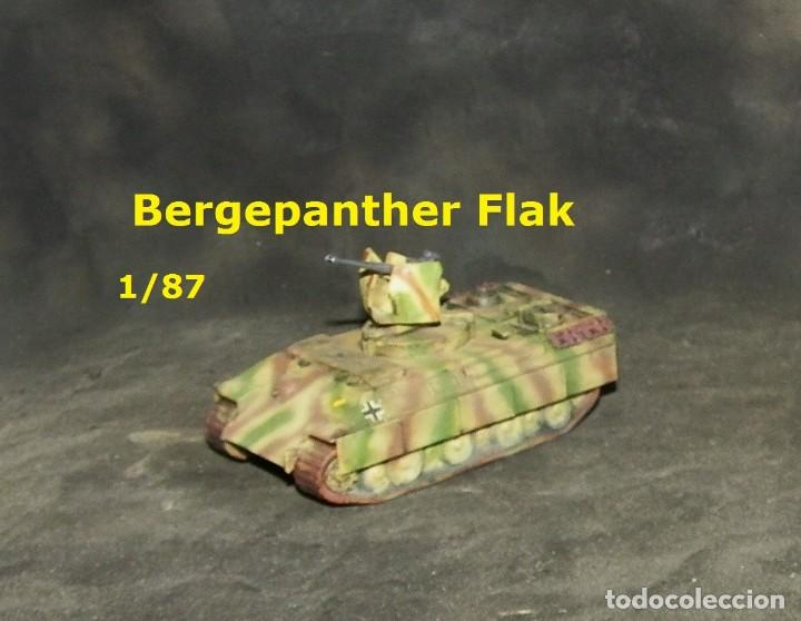 Trenes Escala: Bergepanther Flak, 1/87 - Foto 2 - 171492087