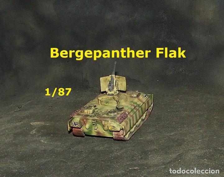 Trenes Escala: Bergepanther Flak, 1/87 - Foto 3 - 171492087