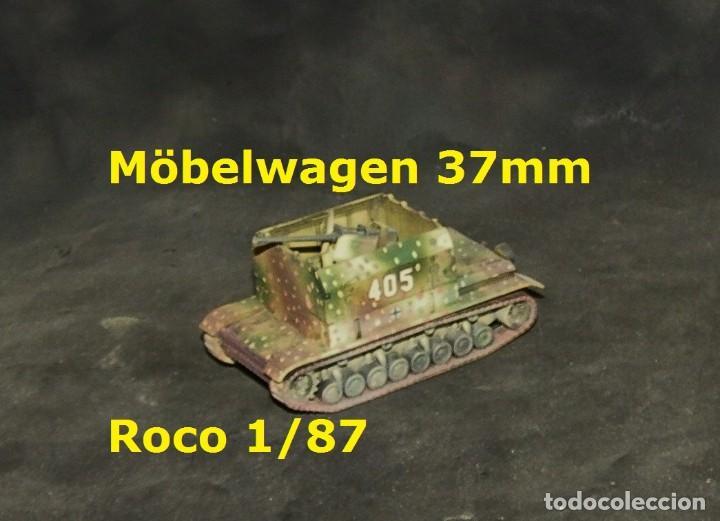 Trenes Escala: Möbelwagen 37mm, Roco 1/87 - Foto 2 - 171492565