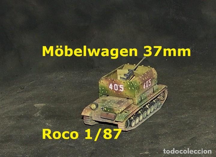 Trenes Escala: Möbelwagen 37mm, Roco 1/87 - Foto 3 - 171492565