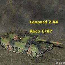 Trenes Escala: LEOPARD 2A4 ESPAÑOL, ROCO 1/87. Lote 171674610