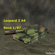 Trenes Escala: LEOPARD 2A4 ESPAÑOL, ROCO 1/87. Lote 171674859