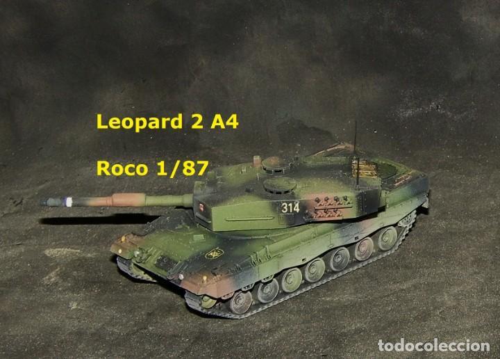 LEOPARD 2A4 ESPAÑOL, ROCO 1/87 (Juguetes - Trenes a Escala H0 - Roco H0)