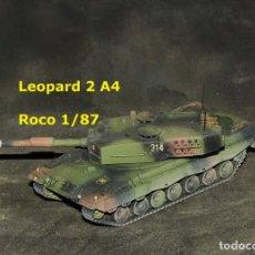 Trenes Escala: LEOPARD 2A4 ESPAÑOL, ROCO 1/87. Lote 171675292