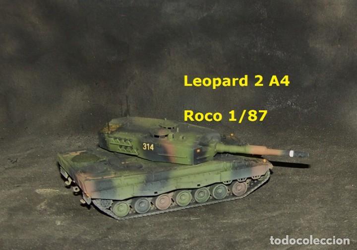 Trenes Escala: Leopard 2A4 español, Roco 1/87 - Foto 2 - 171675292