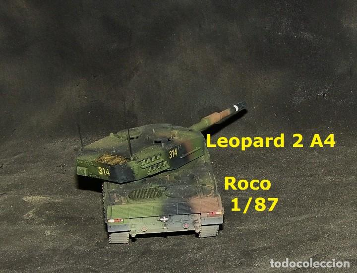 Trenes Escala: Leopard 2A4 español, Roco 1/87 - Foto 3 - 171675292