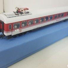 Trenes Escala: ROCO VAGÓN RESTAURANTE DEL DB1 ESCALA H0 CORRIENTE CONTINUA DE 28 CM. Lote 172078245