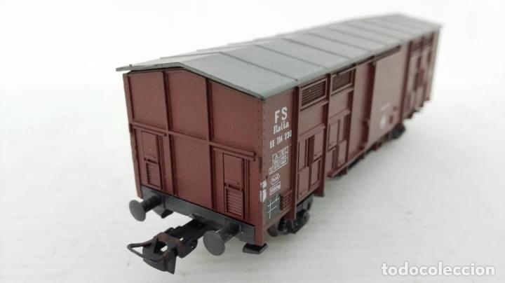 Trenes Escala: VAGON DE TREN MERCANCIAS CERRADO, ROCO INTERNATIONAL 4300, CON CAJA ORIGINAL - Foto 5 - 173540640