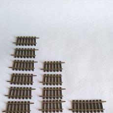 Trenes Escala: ROCO H0 LOTE DE CURVAS, VARIOS TAMAÑOS. VÁLIDO MATERIAL RODANTE IBERTREN,FLEISCHMANN,ETC. Lote 173969517
