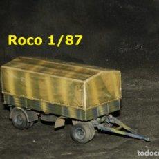 Trenes Escala: REMOLQUE ALEMÁN, ROCO 1/87. Lote 174873995