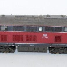 Trenes Escala: LOCOMOTORA ROCO DE LA DB 215 031-6 - ESCALA H0. Lote 178322212