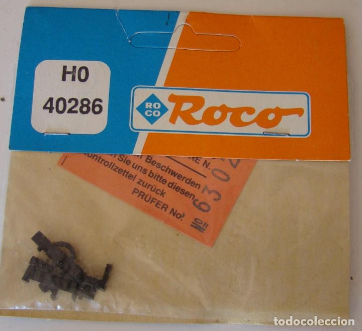 ROCO CABEZALES DE ENGANCHE CORTO CON DESENGANCHE PREVIO, REF: 40286 (Juguetes - Trenes a Escala H0 - Roco H0)