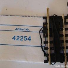 Trenes Escala: ROCO TRAMO DE VIA DETECTORA DE PASO REF: 42254. Lote 178946702