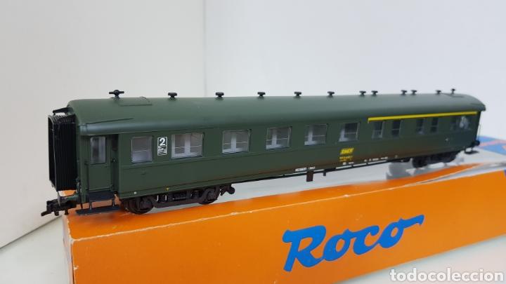 Trenes Escala: Roco 444633 vagón de la SNCF francesa segunda clase y primera 27 cm escala H0 corriente continua - Foto 6 - 180103136