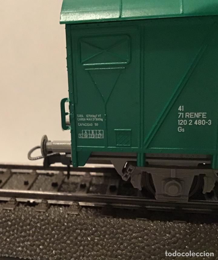 Trenes Escala: JIFFY VENDE 5 VAGONES ROCO H0: DOS DE RENFE, UNA TOLVA, UNO DE CONTENEDOR Y UNO DE BORDES ALTOS - Foto 8 - 182318818