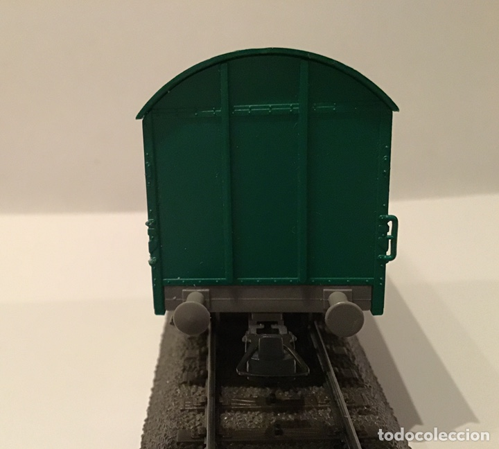 Trenes Escala: JIFFY VENDE 5 VAGONES ROCO H0: DOS DE RENFE, UNA TOLVA, UNO DE CONTENEDOR Y UNO DE BORDES ALTOS - Foto 9 - 182318818