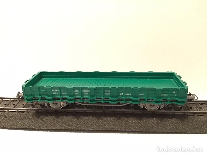 Trenes Escala: JIFFY VENDE 5 VAGONES ROCO H0: DOS DE RENFE, UNA TOLVA, UNO DE CONTENEDOR Y UNO DE BORDES ALTOS - Foto 11 - 182318818