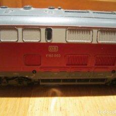 Trenes Escala: ROCO H0 - 43840 - LOCOMOTORA DIÉSEL - V160.003 VAN DE DB - DB. Lote 182726527