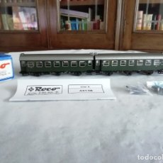 Trenes Escala: ROCO H0 44148 VAGÓN PASAJEROS DOBLE 3ª CLASE DE 3 EJES DB NUEVO NEW OVP. Lote 182983013
