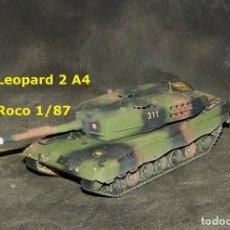 Trenes Escala: LEOPARD 2A4 ESPAÑOL, ROCO 1/87. Lote 183495140