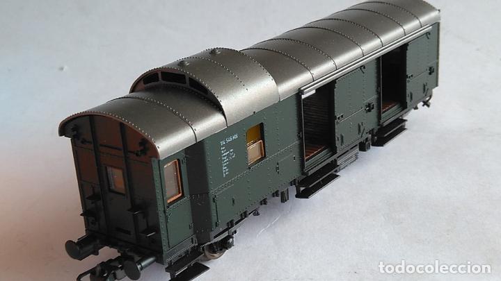 Trenes Escala: ROCO H0 VAGÓN FURGÓN EQUIPAJES.REF 4204. EN CAJA - Foto 2 - 183527227