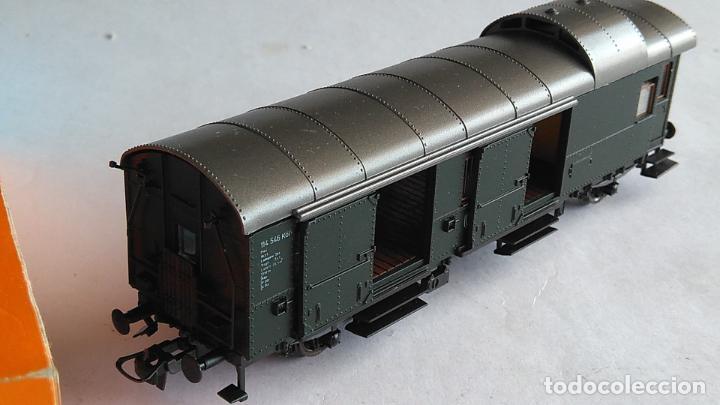 Trenes Escala: ROCO H0 VAGÓN FURGÓN EQUIPAJES.REF 4204. EN CAJA - Foto 3 - 183527227