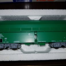 Trenes Escala: ROCO HO SET 3 TOLVAS VERDES RENFE REF.45986. Lote 183699965